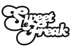 logo sweet le freak wit-zwart